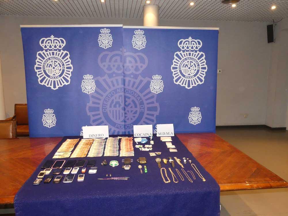 La Policía Nacional de Palencia detiene a 5 personas en una importante operación antidroga, vinculada también con la prostitución