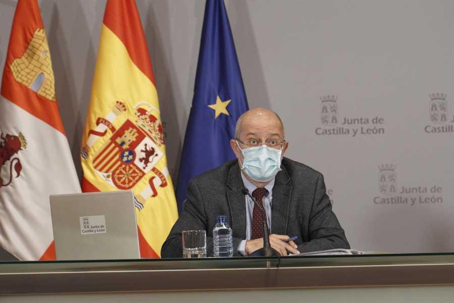 Francisco Igea - Más restricciones como cierre del interior de hostelería desde el martes en municipios de CyL que superen 150 casos