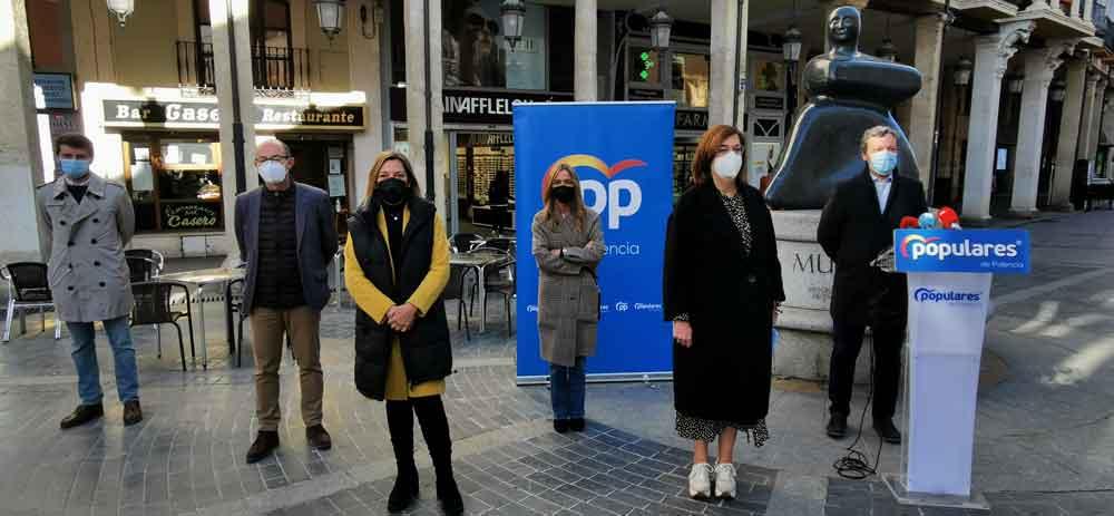 parlamentarios populares Palencia