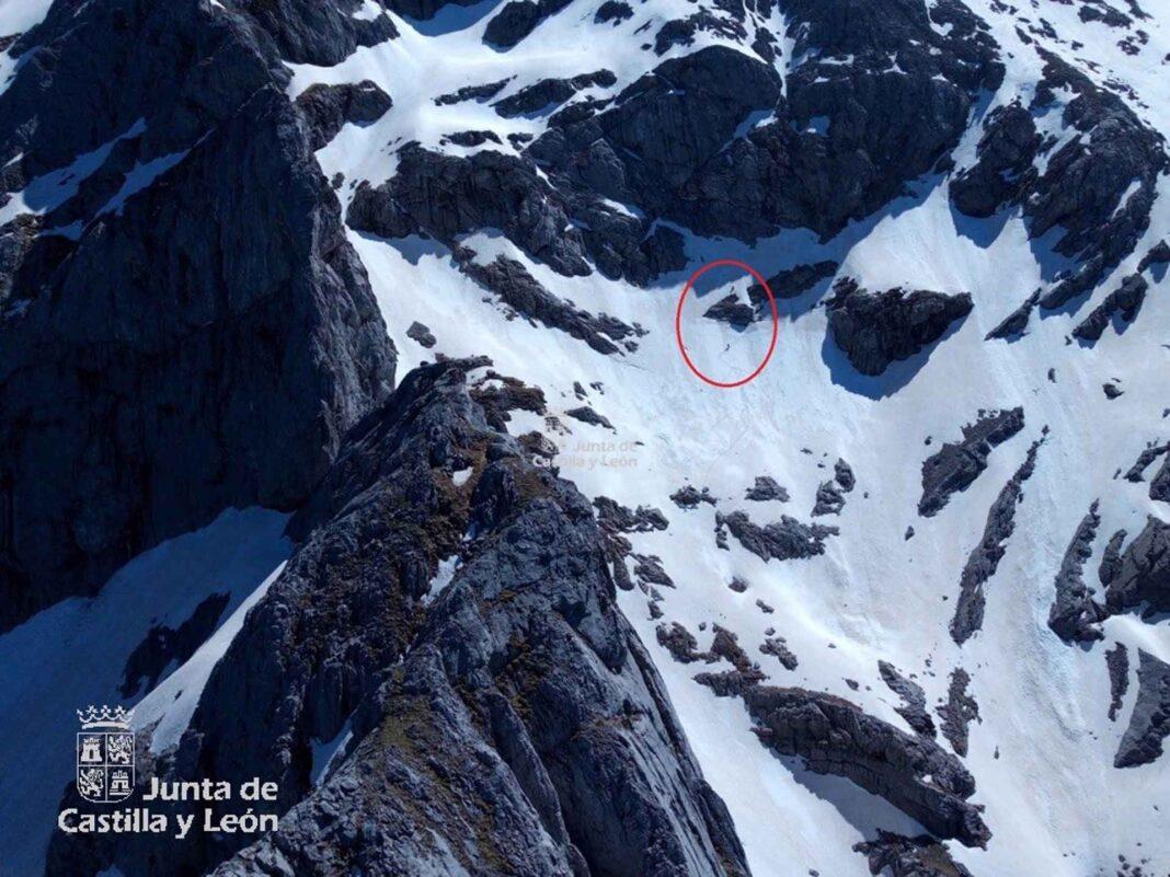 El pico Espigüete, donde se ha producido el rescate de los dos montañeros. - SERVICIO DE EMERGENCIAS 112.