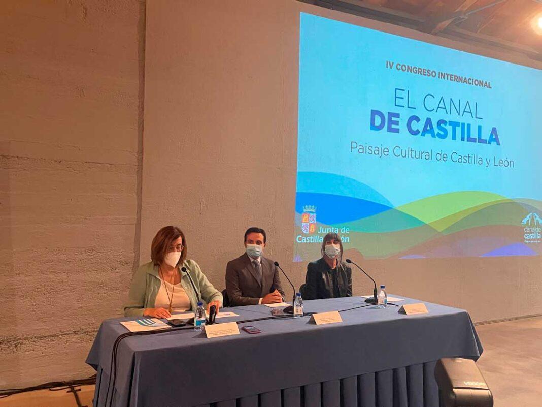 Presentación congreso internacional del canal de castilla