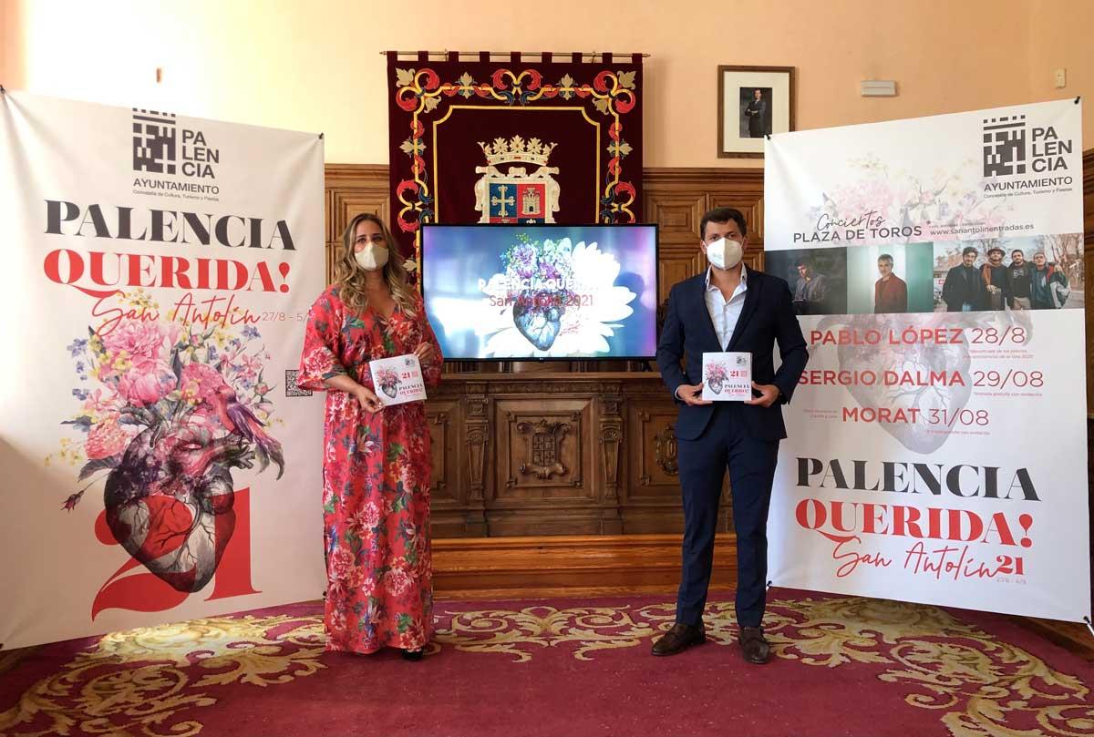 presentación semana cultural San Antolín 2021 Palencia