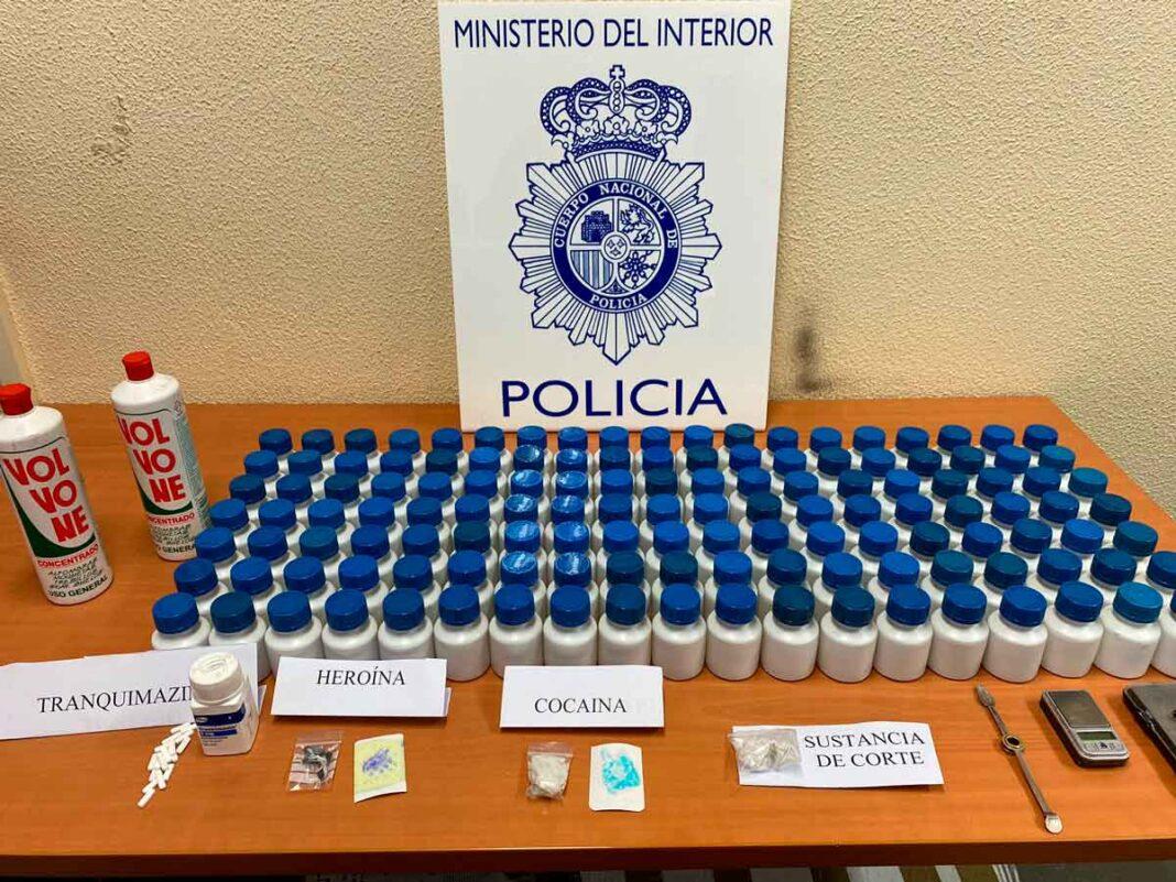 desarticulado un punto de venta de droga en Cardenal Cisneros Palencia